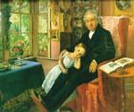 Portrait of Wyatt by  John Everett Millais (Painting ID: CM-0726-KA)