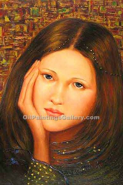 """Portrait of Young Girl 56"""