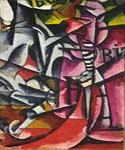 Portrait of a Woman by  Lyubov Popova (Painting ID: AB-8470-KA)