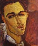 Portrait of the Spanish Painter Celso Lagar by  Amedeo Modigliani (Painting ID: EI-2038-KA)
