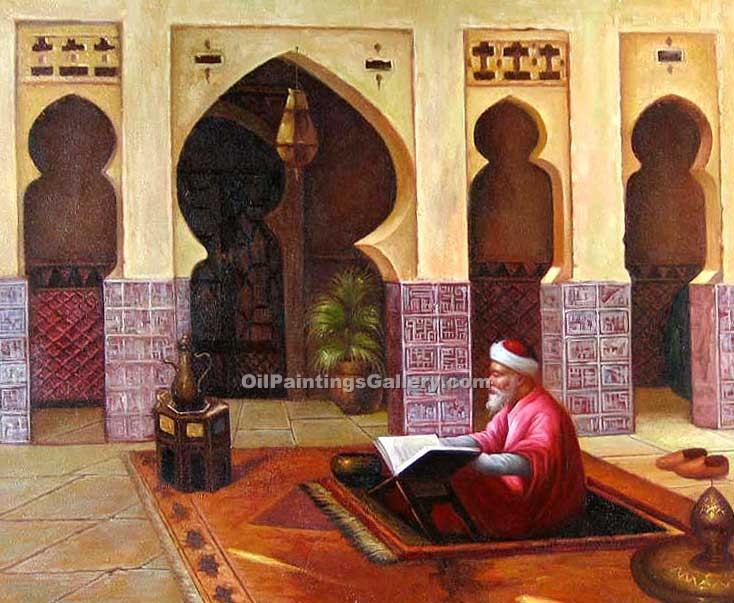 """Prayer in the Mosque"""