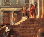 Presentation of the Virgin at the Temple by   Titian (Painting ID: DA-0165-KA)