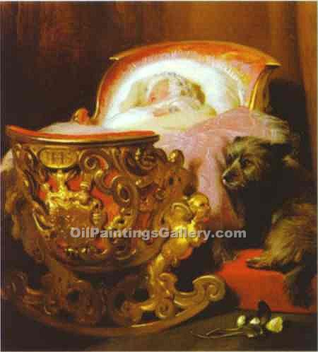 """Princess Alice"" by  Sir Edwin Henry Landseer"