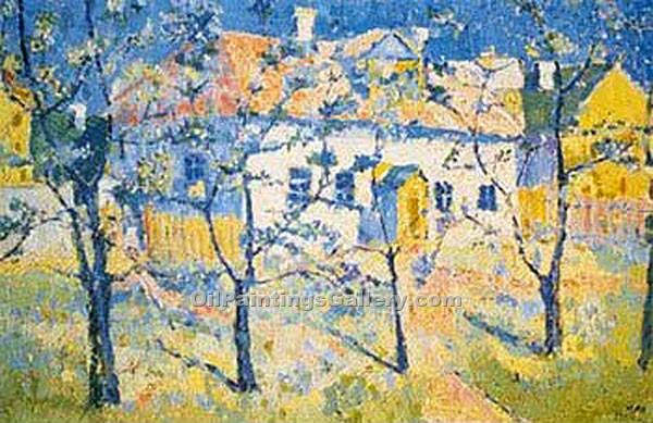 """Printemps"" by  Kasimir Malevich"
