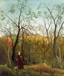 Promenade in the Forest by  Henri Rousseau (Painting ID: RO-0108-KA)