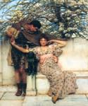 Promise of Spring by  Sir Lawrence Alma Tadema (Painting ID: EI-1327-KA)