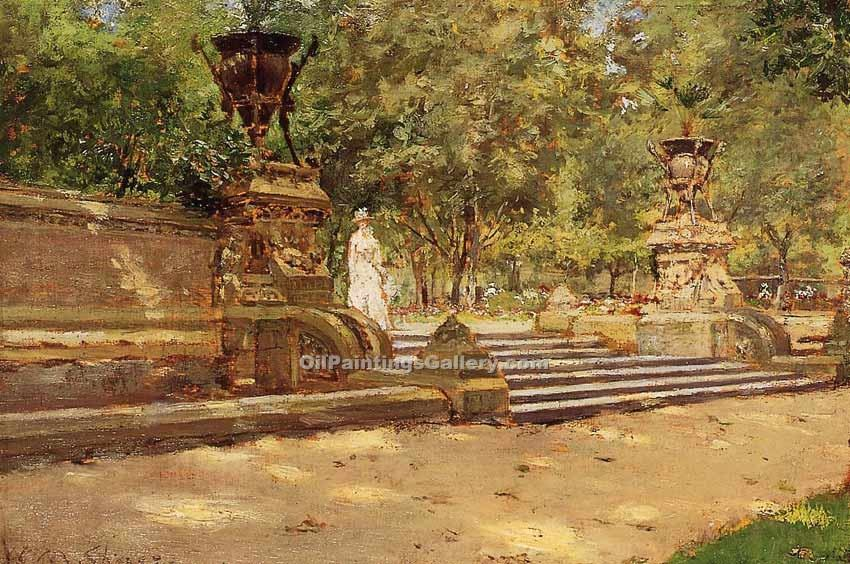 """Prospect Park Brooklyn"" by  William Merritt Chase"