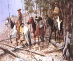 Prospecting for Cattle Range by  Frederic Remington (Painting ID: GE-1922-KA)
