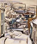 Quebeq by  Preston Dickinson (Painting ID: AB-0384-KA)