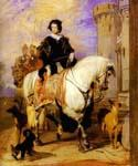 Queen Victoria on Horseback by  Sir Edwin Henry Landseer (Painting ID: CL-2052-KA)