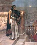 Queen Zenobia s Last Look upon Palmyra by  Herbert Gustave Schmalz (Painting ID: CL-2768-KA)
