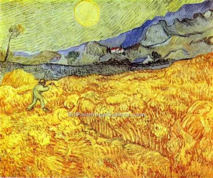 """Reaper 54"" by  Vincent Van Gogh"
