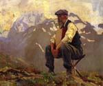 Reconnoitering by  John Singer Sargent (Painting ID: EI-0436-KA)
