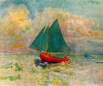 Red Boat by  Odilon Redon (Painting ID: LA-0059-KA)