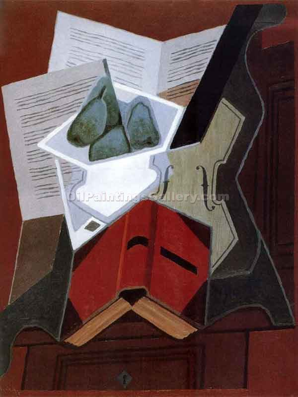 """Red Book"" by  Juan Gris"