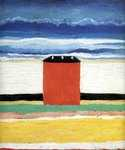 Red House by  Kasimir Malevich (Painting ID: LA-0037-KA)
