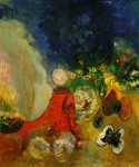 Red Sphinx by  Odilon Redon (Painting ID: CK-0066-KA)