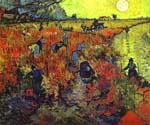 Red Vineyards of Arles by  Vincent Van Gogh (Painting ID: VG-0168-KA)
