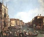 Regatta on the Grand Canal by  Antonio Canaletto (Painting ID: CI-2027-KA)