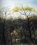 Rendezvous in the Forest by  Henri Rousseau (Painting ID: RO-0106-KA)