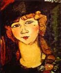 Renee the Blonde by  Amedeo Modigliani (Painting ID: EI-2040-KA)