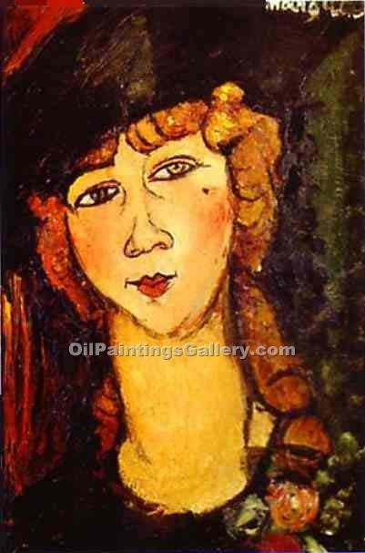 """Renee the Blonde"" by  Amedeo Modigliani"