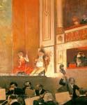 Representation at the Theatre des Varietes Paris by  Jean Beraud (Painting ID: EI-0865-KA)