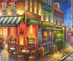 Store Front Oil Paintings