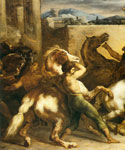 Riderless Horse Races by  Theodore Gericault (Painting ID: AN-2323-KA)