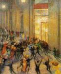 Riot in the Galleria by  Umberto Boccioni (Painting ID: AB-0333-KA)