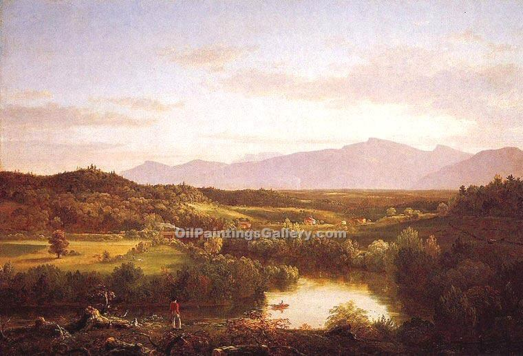 """River in the Catskills"" by  Thomas Cole"