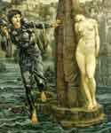Rock of Doom by  Edward Burne Jones (Painting ID: CL-7026-KA)