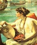 Roman Boat Race by  Sir Edward John Poynter (Painting ID: CL-1108-KA)