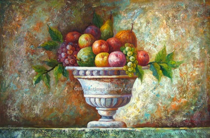 """Roman Carafe with Fruit 20"""