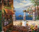Romantic Bellagio 21  (Painting ID: LA-1121-KA)