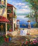 Romantic Bellagio 22  (Painting ID: LA-1122-KA)