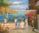 Romantic Bellagio 23  (Painting ID: LA-1123-KA)