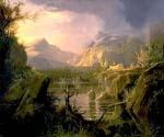 Romantic Landscape by  Thomas Cole (Painting ID: LA-5614-KA)