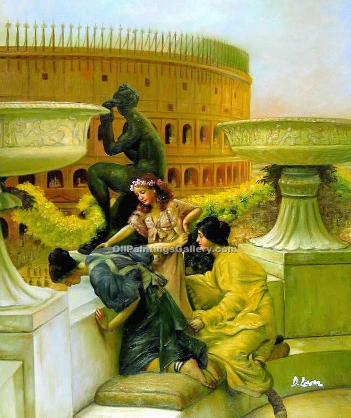 """Rome The Coliseum"" by  Sir Lawrence Alma Tadema"