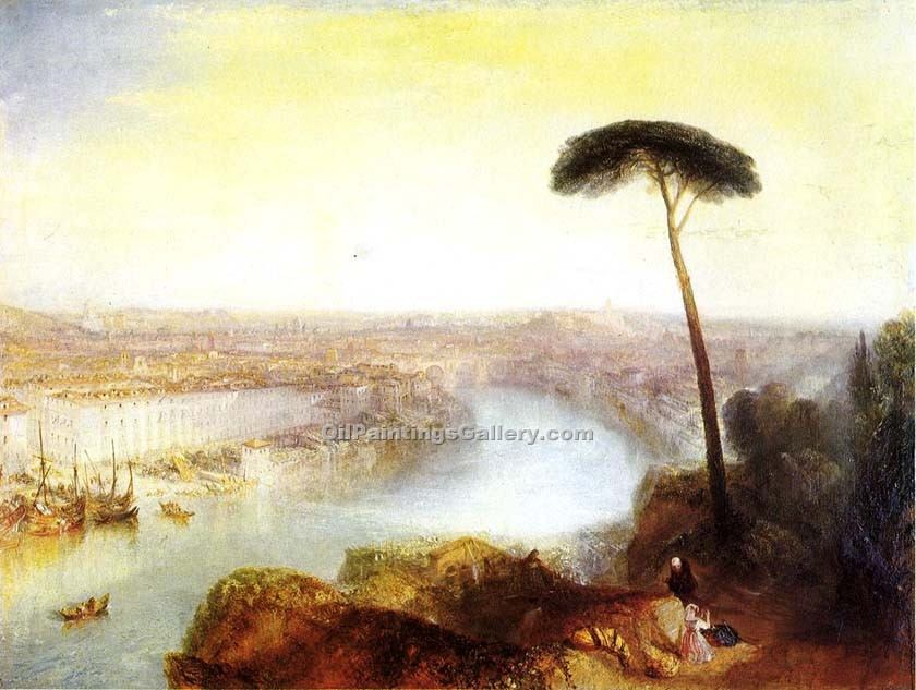 """Rome from Mount Aventine"" by  William Turner"