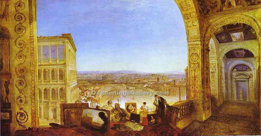 Rome From The Vatican By William Turner Painting Id Ci