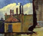 Roof Tops in Paris by  Paul Serusier (Painting ID: LA-0290-KA)