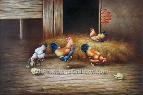 Buy Bird Paintings Online | Realism & Naturalism style Oil Paintings - Realism, Naturalism