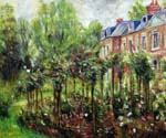 Rose Garden at Wargemont by  Pierre Auguste Renoir (Painting ID: CL-4603-KA)