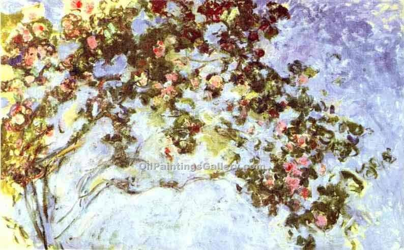 """Roses 62"" by  Claude Monet"