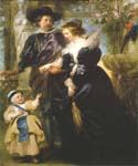 Rubens his wife Helena Fourment and their Son by  Peter Paul Rubens (Painting ID: CM-1525-KA)