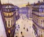 Rue Halevy Seen from the Sixth Floor by  Gustave Caillebotte (Painting ID: CI-0726-KA)