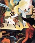 Russian Ballet by  August Macke (Painting ID: EI-0328-KA)