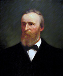 Rutherford B. Hayes, 19th President, Painted by Eliphalet Andrews  (Painting ID: CM-0019-KA)