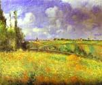Rye Fields at Pontoise by  Camille Pissarro (Painting ID: LA-0922-KA)
